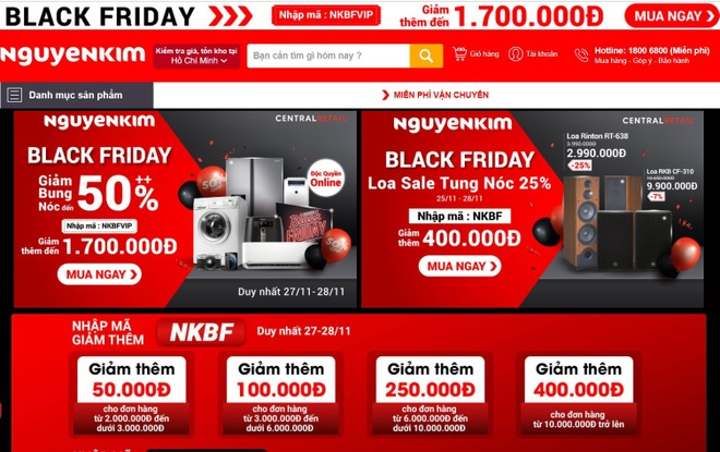 Black Friday,  mua sam,  deal Black Friday Viet Nam 2020 anh 5