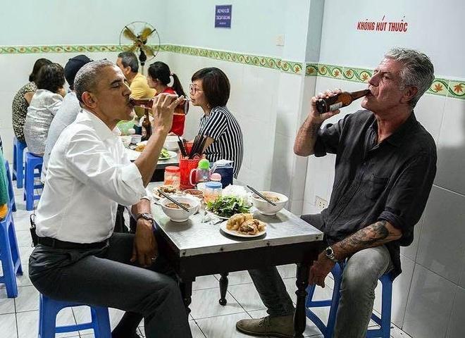 Nhung khoanh khac lay dong trai tim nguoi Viet cua Obama hinh anh