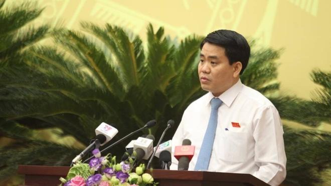 Khong co chu truong thay the cay xanh quanh ho Guom hinh anh