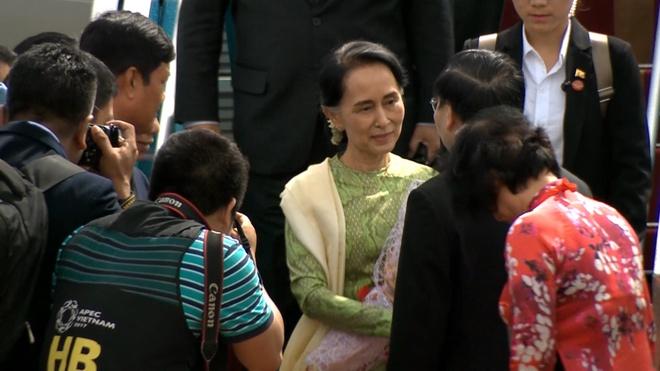 Chuyen co dua ba Aung San Suu Kyi den Da Nang hinh anh