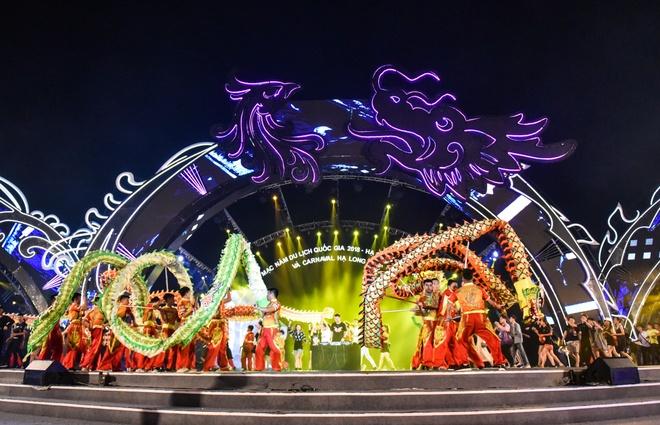Đêm hội Carnaval Hạ Long tràn ngập màu sắc - Du lịch