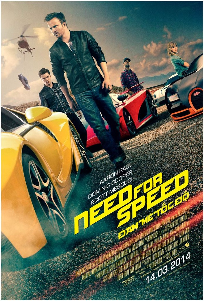 'Need for Speed': Bom tan toc do thoa man fan Viet hinh anh
