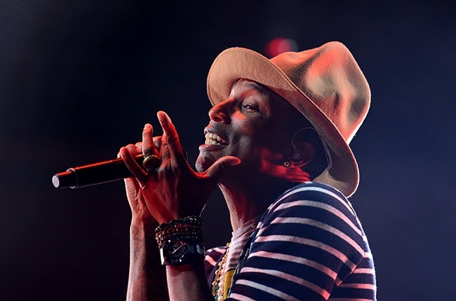 Pharrell Williams khuay dong nhac hoi an khach nhat nuoc My hinh anh