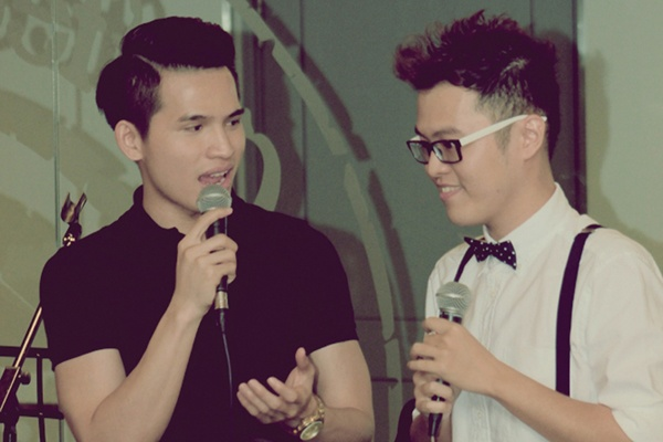 Quoc Thien ung ho Hamlet Truong trong dem minishow hinh anh