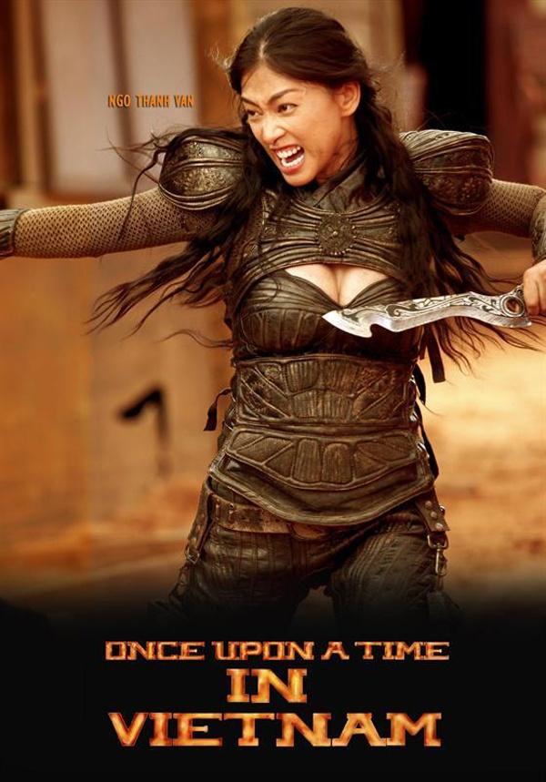 Nhung 'da nu' Viet hut mat voi trang phuc goi cam, manh me hinh anh 9 Khi bộ phim Lửa Phật công bố tạo hình nhân vật nữ chiến binh Ánh của đả nữ Ngô Thanh Vân, khán giả khá bất ngờ trước bộ áo giáp dành riêng cho người đẹp.