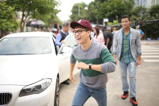 MC Thanh Tu vao vai dong tinh trong phim dien anh dau tay hinh anh