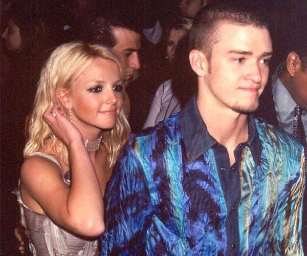 """Nhung cap sao chia hai nga vi ap luc noi tieng hinh anh 5 Britney Spears và Justin Timberlake từng là cặp đôi đẹp của làng nhạc Mỹ với những biệt danh """"công chúa, hoàng tử làng nhạc Pop""""."""