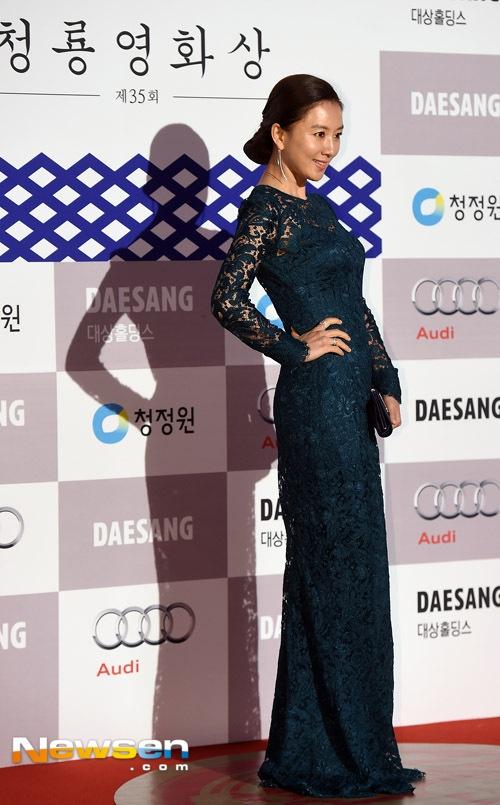 Kim Hee Ae mặn mà.