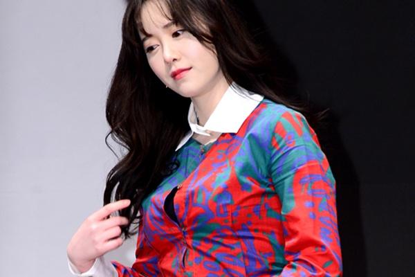 Goo Hye Sun buc cuc vay vi tang can hinh anh