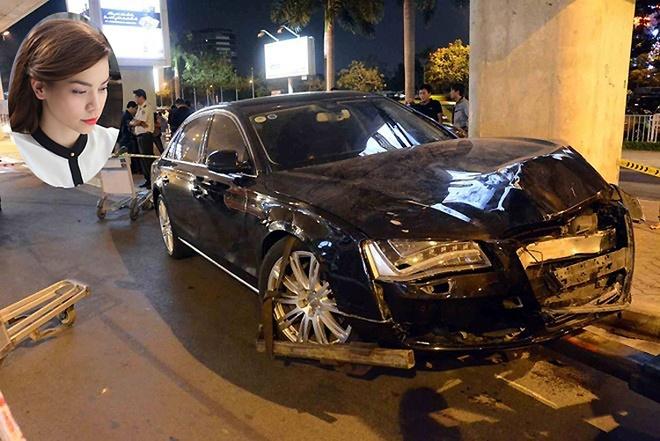 Hồ Ngọc Hà và vụ xe riêng tông 11 người: Tối 10/2, chiếc xe Audi của doanh nhân Cường Đô la do cháu Hồ Ngọc Hà cầm lái đã tông 11 người tại sân bay Tân Sơn Nhất, TP HCM trong lúc ra đón vợ chồng cô. Vụ tại nạn làm một người chết và nhiều người bị thương nặng.