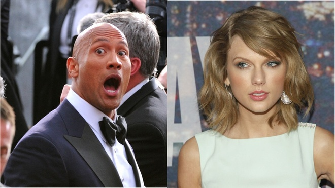 The Rock hai huoc an theo hit cua Taylor Swift hinh anh