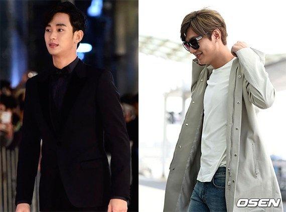 Cuoc chien quang cao giua Lee Min Ho va Kim Soo Hyun hinh anh 2 Hai mỹ nam thay phiên nhau trúng những hợp đồng lớn.