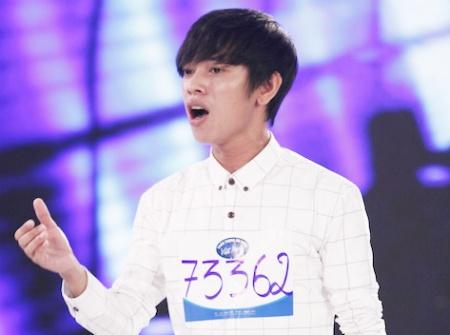 Hot boy ban keo keo xuat hien trong tap 2 Vietnam Idol hinh anh