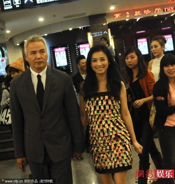Trương Đình và Lâm Thoại Dương là cặp đôi nổi tiếng của showbiz Đài Loan. Nàng