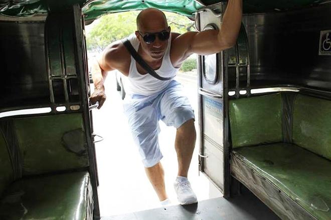 Vin Diesel muon thuc hien 'Fast 8' tai Philippines hinh anh