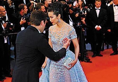 Ly Bang Bang bi an ninh moi ra khoi tham do Cannes hinh anh