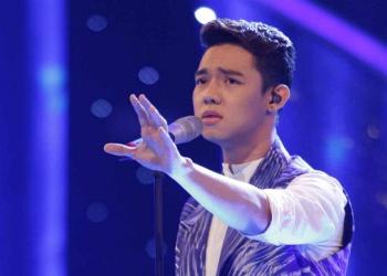 Em ho Ho Vinh Khoa bat ngo but pha tai Vietnam Idol hinh anh