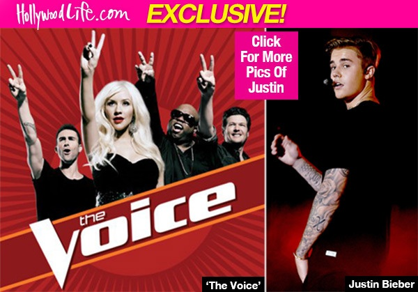 The Voice My muon moi Justin Bieber ngoi ghe nong hinh anh