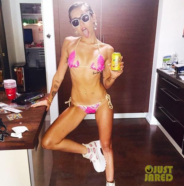 Miley Cyrus va tinh cu tranh dung mat hinh anh 2
