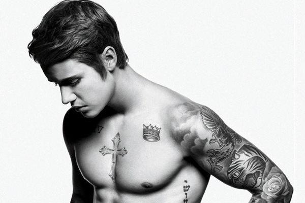 Justin Bieber gui anh mac do lot cho tai tu 'Ted' hinh anh