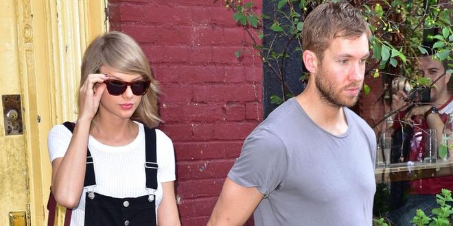 Taylor Swift va Calvin Harris lot top sao thu nhap khung hinh anh