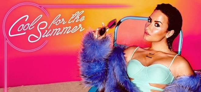 Demi Lovato chup anh bia sexy cho single moi hinh anh