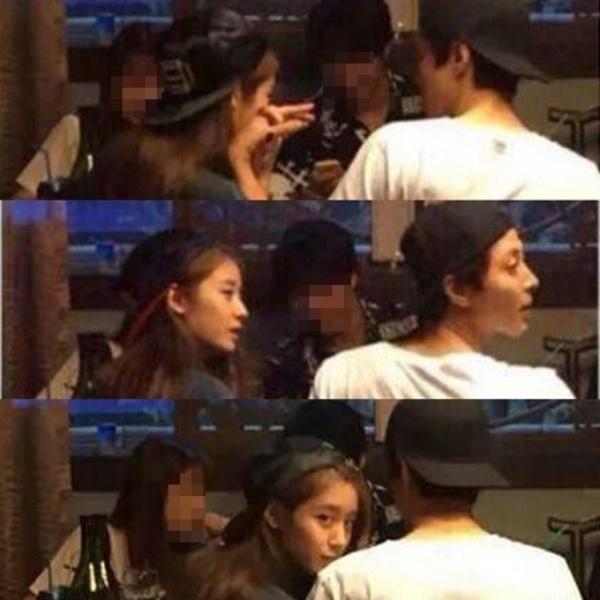 Ảnh hẹn hò của Lee Dong Gun và Jiyeon (T-ara).