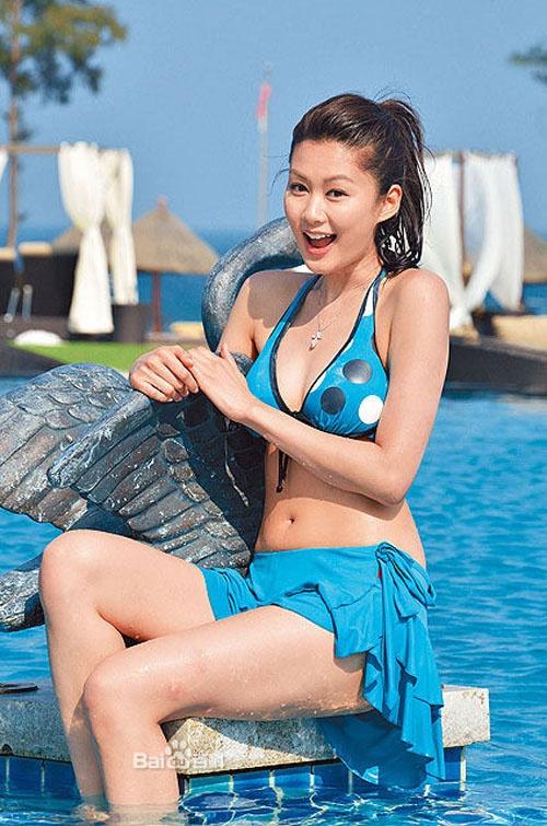 Nhung my nhan TVB tuyen bo giu minh den ngay cuoi hinh anh 8 ình ảnh  khoe body quyến rũ gợi cảm trong bộ bikini ướt đẫm cũng khiến khán giả phải