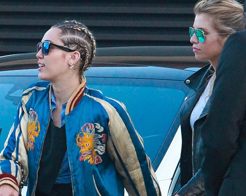 Mau noi y xac nhan hen ho Miley Cyrus hinh anh