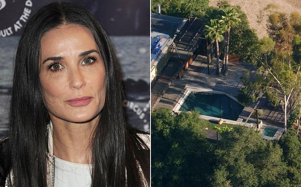 Một người được tìm thấy tử vong trong bể bơi nhà minh tinh Demi Moore.