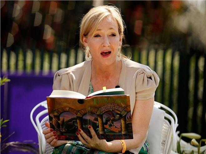 Nhung dieu thu vi ve 'Harry Portter' duoc JK Rowling tiet lo hinh anh