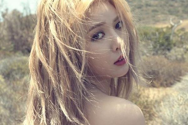 HyunA kien quyet sexy du bi da kich hinh anh