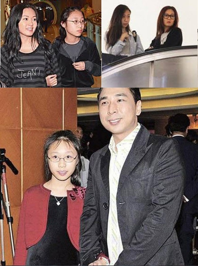 Cuoc song 'Nu hoang phim cap ba Hong Kong' o tuoi U50 hinh anh 4 Lý Lệ Trân cùng con gái và chồng đầu.