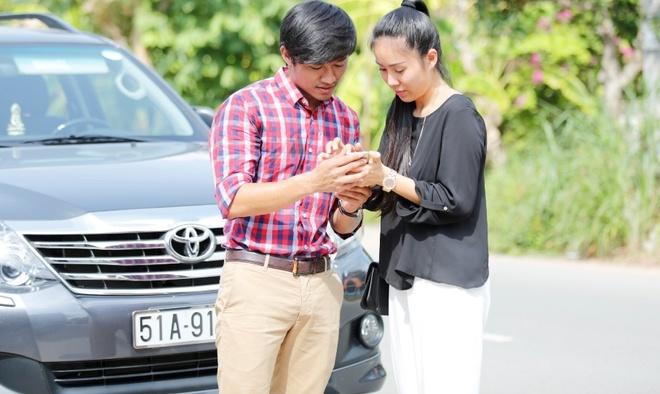Le Phuong phu tinh Quy Binh trong phim moi hinh anh 1 Lê Phương và Quý Bình sẽ chính thức tái hợp trong phim Sông phố nhà ghe