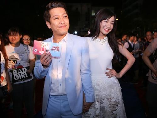 Truong Giang nam tay Nha Phuong ra mat phim '49 ngay' hinh anh