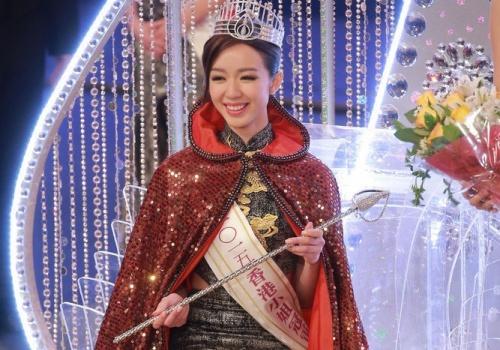 Nu sinh khoa Luat dang quang Hoa hau Hong Kong 2015 hinh anh