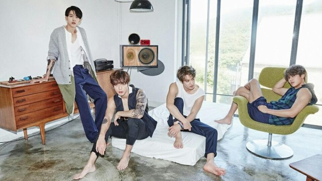 CNBlue tro lai Kpop voi album '2gether' hinh anh
