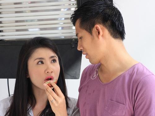 Nguyet Anh - Thanh Thuc gap trac tro hon nhan trong phim moi hinh anh