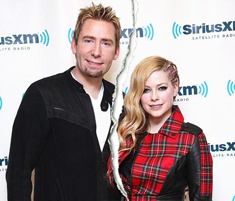 Avril Lavigne chia tay chong thu hai hinh anh 1