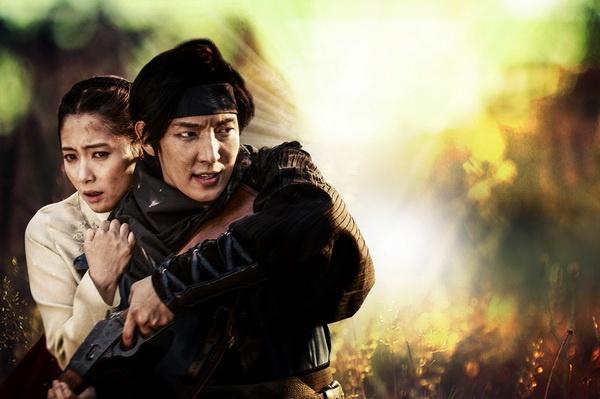 Lee Jun Ki vuong tinh tay ba voi Nam Sang Mi hinh anh
