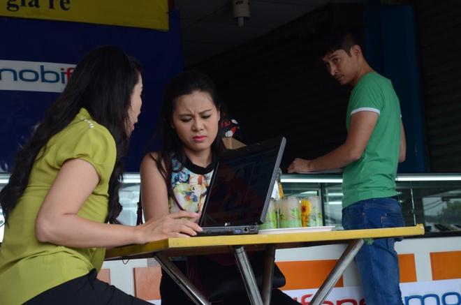 Trinh Kim Chi yeu Huy Khanh trong phim moi hinh anh 6