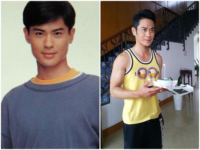 Bat dai my nam U50 cua TVB hinh anh 1 Dù đã 45 tuổi nhưng Trịnh Gia Dĩnh vẫn thích mặc áo Minion do fan tặng.