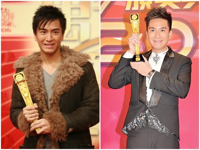 Nhung dieu it biet ve Ma Quoc Minh va Sam Le Huong hinh anh 1 Mã Quốc Minh khi nhận giải thưởng TVB.