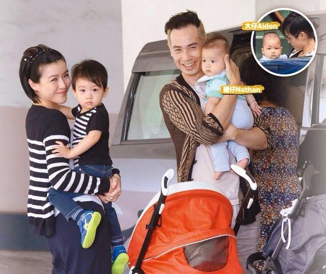 Bat dai my nam U50 cua TVB hinh anh 4 Gia đình nhỏ 4 người hạnh phúc của Trần Hào.