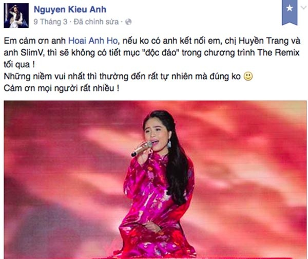 Loat tin don lam day song Giong hat Viet 2015 hinh anh 4