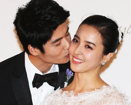 My nhan 'Truyen thuyet Jumong' sinh con gai dau long hinh anh