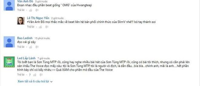Son Tung M-TP ngong tren song truyen hinh? hinh anh 2 Phản hồi của khán giả trên kênh YouTube sau phần trình diễn của Sơn Tùng.