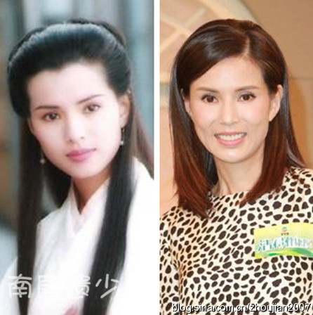 Ngay ay va bay gio cua cac nu hiep trong phim Kim Dung hinh anh 13 Đến Lý Nhược Đồng - Tiểu Long Nữ kinh điển màn ảnh cũng không chạy thoát khỏi dấu vết thời gian.