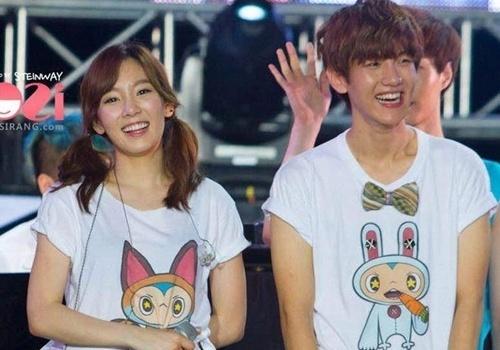 Taeyeon (SNSD) va Baekhyun (EXO) chia tay hinh anh