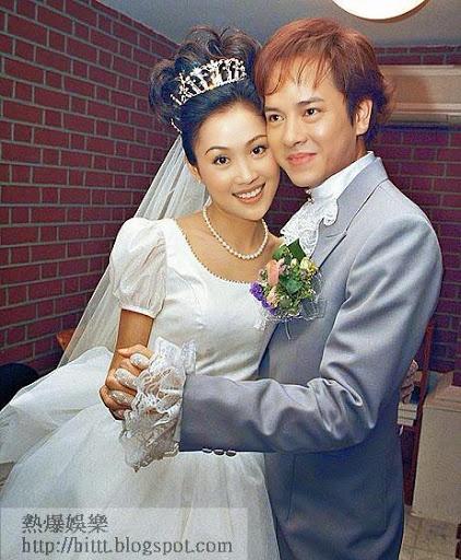 'Chuc Anh Dai' Luong Tieu Bang: Tuoi U50 chat vat nuoi chong hinh anh 2 Lương Tiểu Băng cưới Trần Gia Huy vào năm 2000.